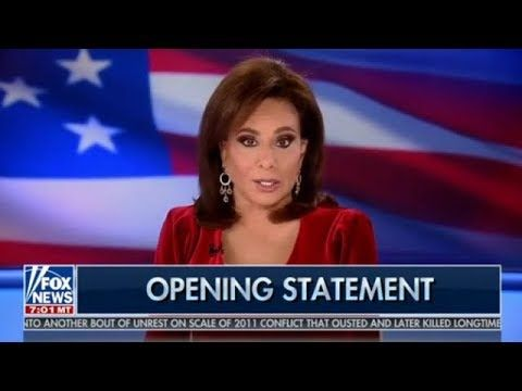 Justice With Judge Jeanine 12 14 19 Breaking Fox News Trump December 14 2019 Youtube Jeanine Pirro Youtube Judge