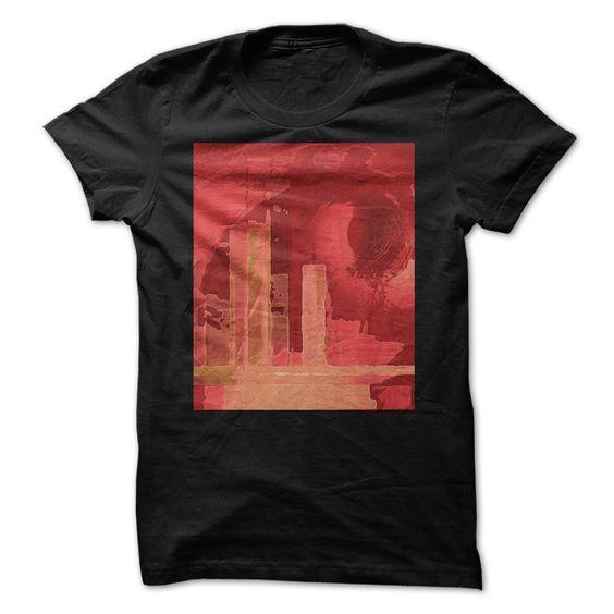City in Red T Shirt, Hoodie, Sweatshirt