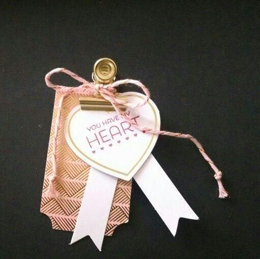 Valentines tag by Monika