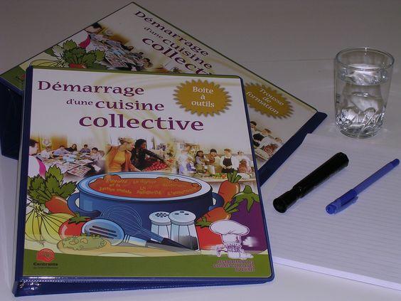 formation démarrage d'une cuisine collective - regroupement des