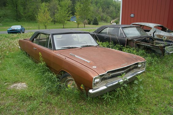 Barn finds muscle cars and find cars on pinterest for Motor city barn finds