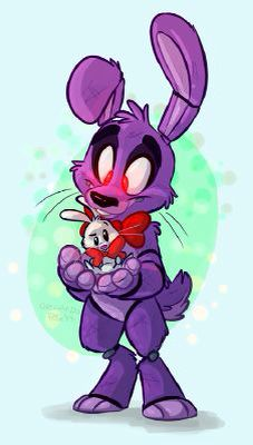 God Bonnie... Stahp blushing . It's only a fricking bunny rabbit that's ALIVE.