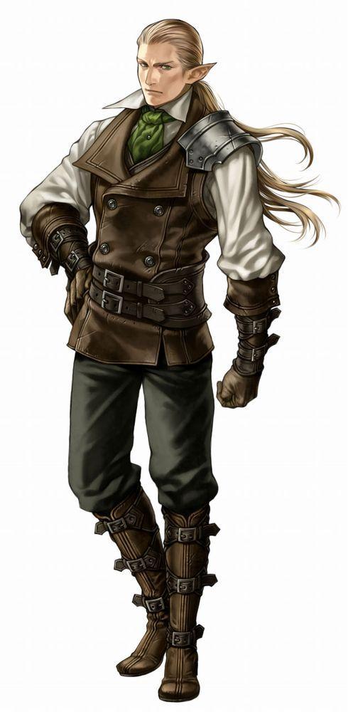 D D Character Design : Wizardry torawareshi bourei no machi arte g