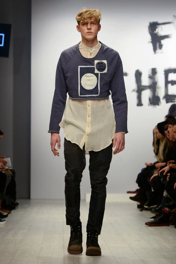 Mads Dinesen Fall/Winter 2014 - Mercedes-Benz Fashion Week Berlin | Male Fashion Trends