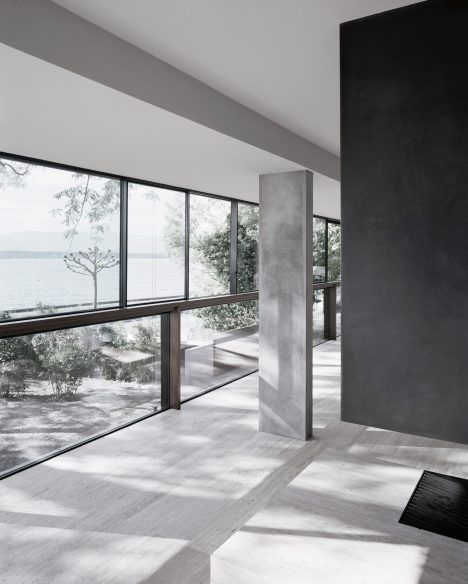 Villa Le Lac, Lake Geneva Switzerland (former office bldg.) | Meyer Architecte