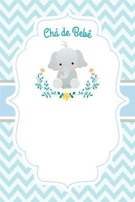 Mini Kit Digital Para Cha De Bebe Elefante Gratis Cha De Bebe