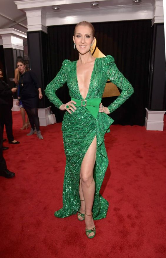 We've rounded up the best looks from one of the crazier red carpets: the 2017 Grammys. #celinedion #grammys #celebrity