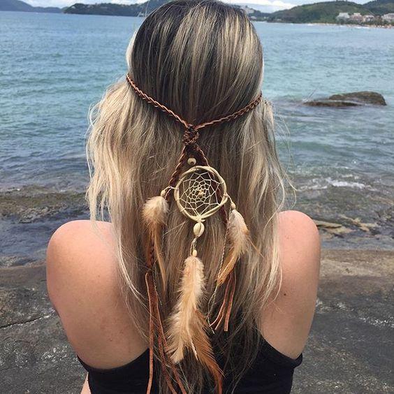 Instagram media hippieartesanatos - Headband filtro dos sonhos disponível em nosso site www.hippieartesanatos.com