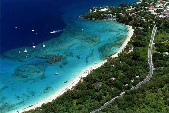 Sosua, Dominican Republic. Dominican Republic is a island in the Caribbean so it's surround  by water.