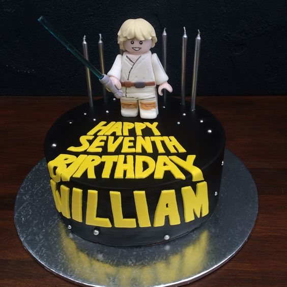 Luke Skywalker Birthday Cake