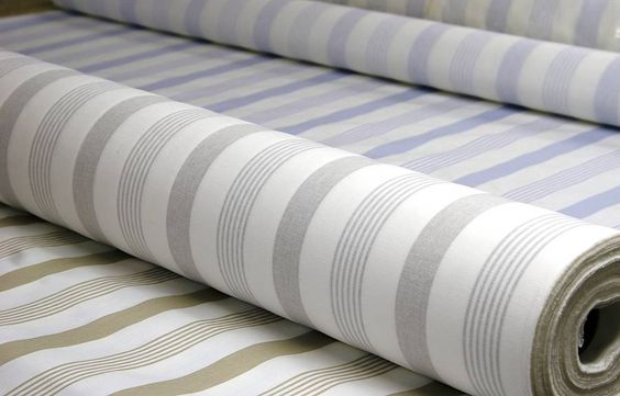 Pavillion Stripe Oilcloth Tablecloths By The Metre Living Dining