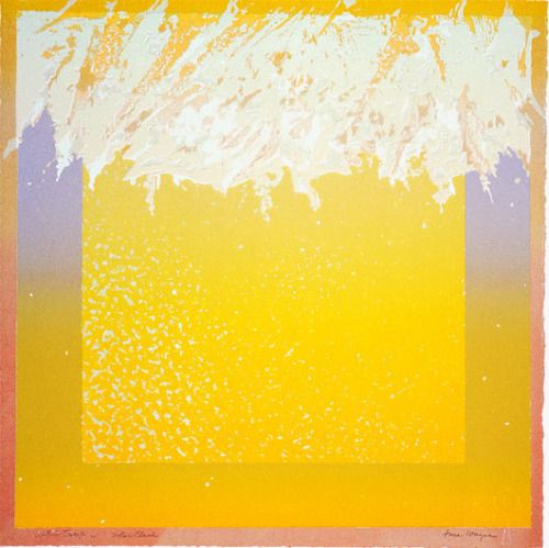 Solar Flash, 1983 #lithograph by #junewayne #tamarindinstitute #fineart #womeninart #feministartist If interested in exhibiting or purchasing, please contact the June Wayne Collection to check for availability.