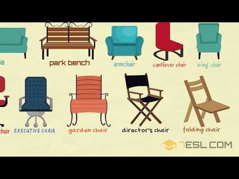 Chairs Vocabulary In English Names Of Chairs 7esl Chair Style Cantilever Chair Garden Chairs