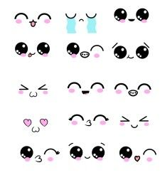 How To Draw Cute Eyes With 15 Kawaii Examples In 2020 Cute Eyes Drawing Emoji Drawings Cute Drawings