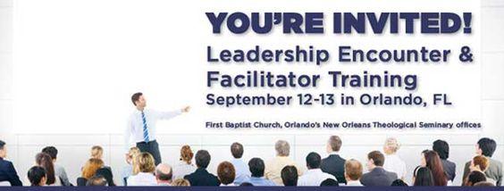 Sept. 12-13 Orlando Leadership Encounter