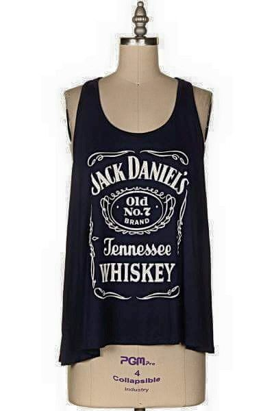Adult Jack Daniels Tennesse Whiskey Tank