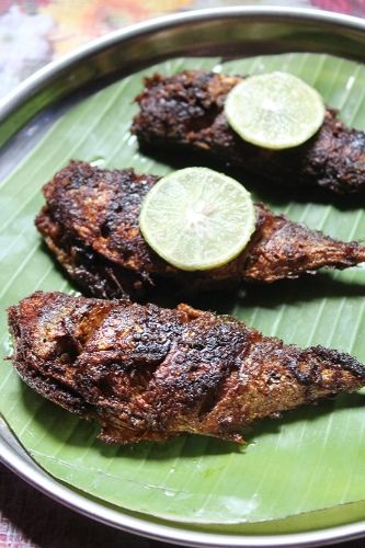... Ayala Fry Recipe / Mackerel Fry Recipe / Curry Leaves Fish Fry Recipe