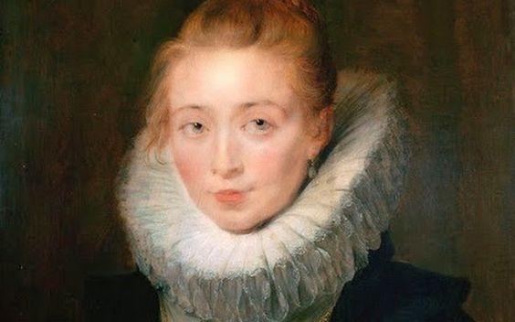 Retrato de Clara Serena, la dama de honor de la Infanta Isabel. Paul Rubens, 1.625.