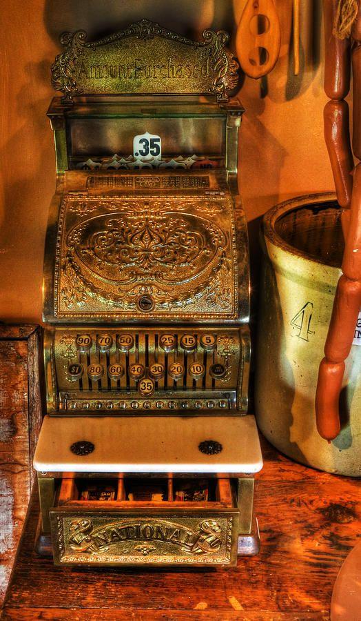 Old Time Cash Register - General Store - Vintage ..