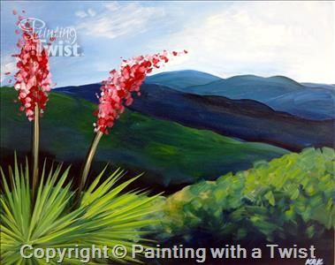 Weekend wine down texas hill country san antonio for Painting with a twist san diego