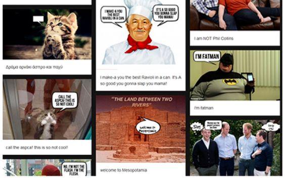 3 tool gratuiti per aggiungere fumetti divertenti alle tue foto Utilizzando questi 3 servizi online gratis potrai facilmente inserire fumetti, scritte e vignette sulle tue foto. Il risultato finale può essere salvato sul PC e puoi condividerlo con i tuoi amici. E #online #gratis
