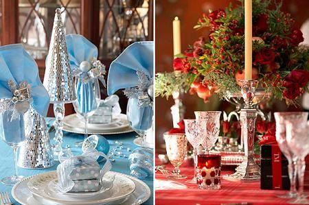 imagenes de adornos de mesas ano nuevo   ... en la Web: Ideas para la mesa en época de navidad y año nuevo