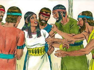 Samson Tells a Riddle at his Feast