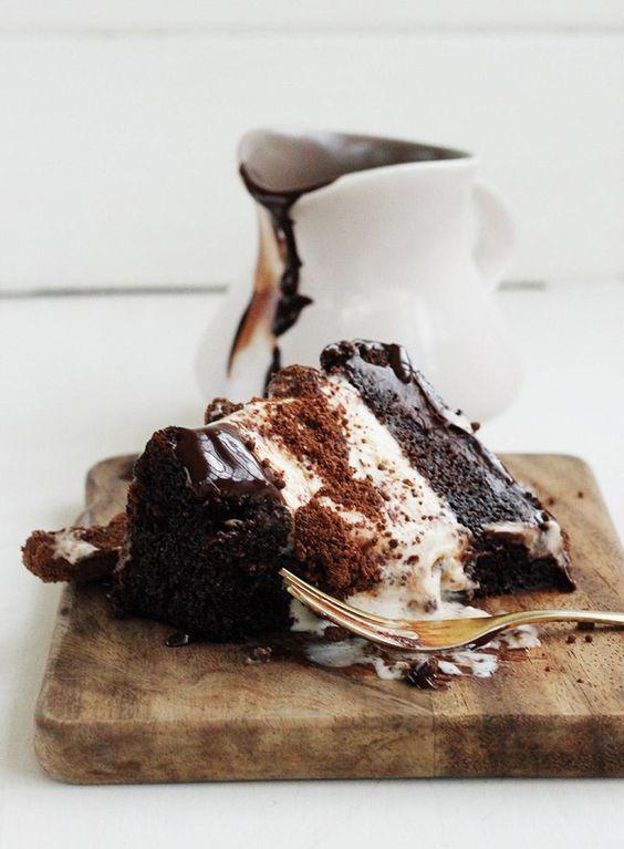 Chocolate Milo Ice Cream Cake