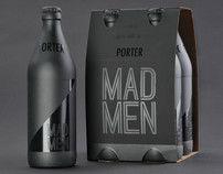 Mad Men Beer Packaging Design by Samantha Mancl, via Behance