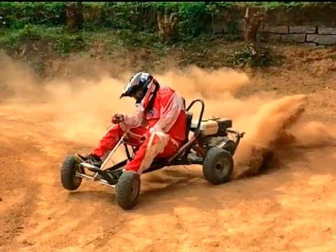 Drift Buggy 160cc O Kart Off Road De Alta Performance