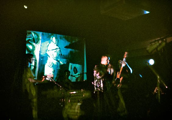 First multi-media art performance with 2nd genertation,1993.