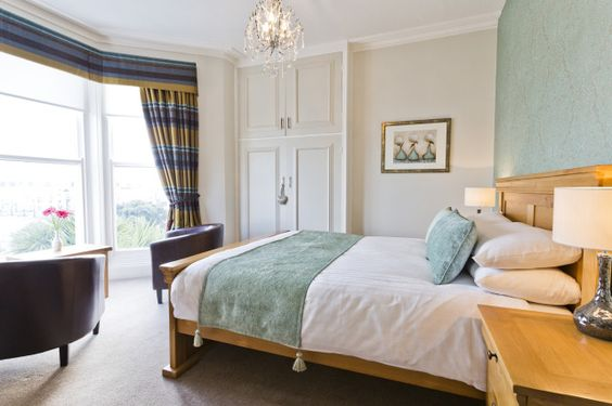 (PHOTO: Elm Tree Hotel, Llandudno)  Top 25 hotels for service in the UK (according to Tripadvisor)  4. Elm Tree Hotel, Llandudno  The Elm Tree Hotel sits right on the seafront in Llandudno and is home to beautiful views of the town's bay. Offering stylish boutique accommodation, the Elm Tree also has a terraced garden, a well-equipped gym and a games room. Find more information on their website.