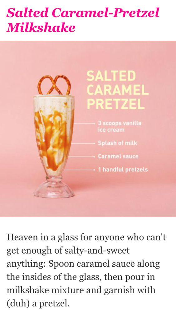 Summer milkshakes, Cosmopolitan snap chat