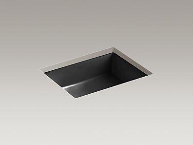 Playroom drop in sink  KOHLER | K-2882-7 | Verticyl® Rectangular undermount bathroom sink