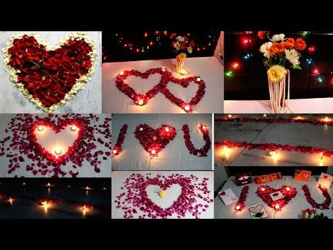 Romantic Room Decoration For Valentine S Day 7 Romantic Bedroom