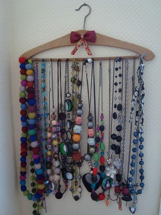 presentoirs a colliers 100% recup' - Adèle la rondelle, de fil en aiguille...
