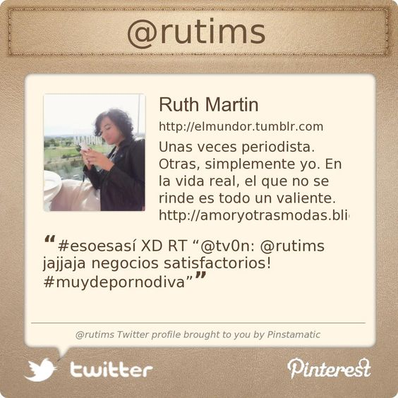 @rutims's Twitter profile courtesy of @Pinstamatic (http://pinstamatic.com)