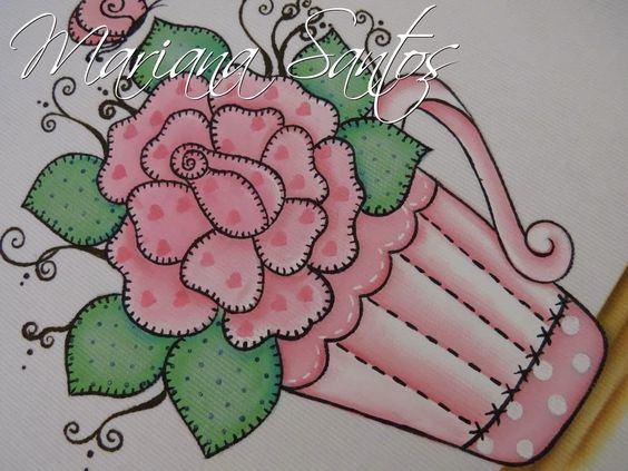 Artes Mariana Santos: Flores Country!