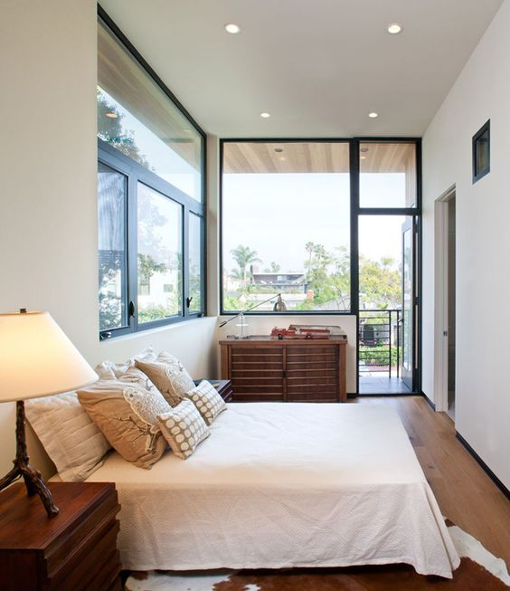 Mayes Office have designed the remodel and addition to a house on a small street in Venice, California.