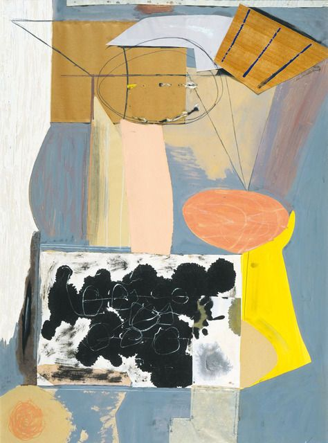 ROBERT MOTHERWELL The Displaced Table, 1943