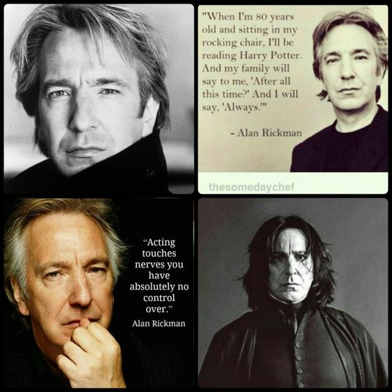 RIP Alan Rickman!! You will be missed!!  *ALWAYS*