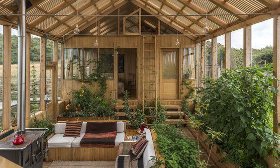 M. Donoso. Winter garden house