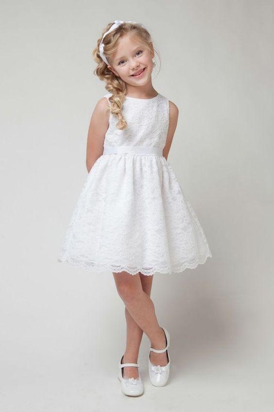 Coiffure petite fille pour mariage- 30 filles d&-39-honneur superbes ...