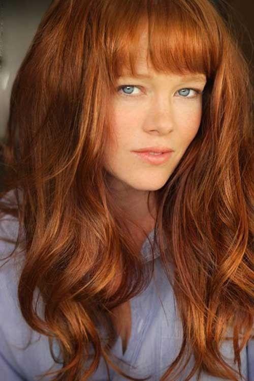 14++ Lange rote haare frisur die Info