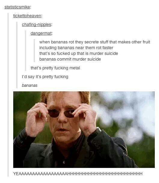 Banana murder suicide