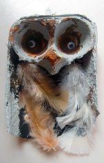 Owl art activity for a Woodland Animals Preschool Theme!