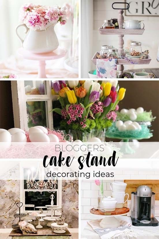 Decorating Cake Stands 4 Ways That Don T Involve Cake Cake
