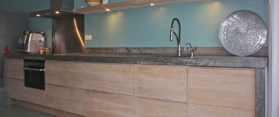 Greeploze Keuken Ikea : Greeploze keuken met betonnen blad koak ikea kitchen pimp