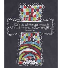 Bucilla ® Counted Cross Stitch - Picture Kits - I Can Do All Things