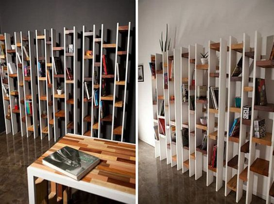 Bookshelves pallets and livres on pinterest